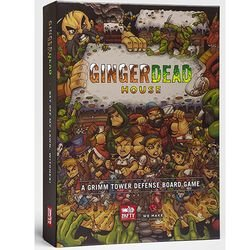 Kickstater Gingerdead House - A Grimm Tower Defense Board Game - Halloween Tower Defense 5