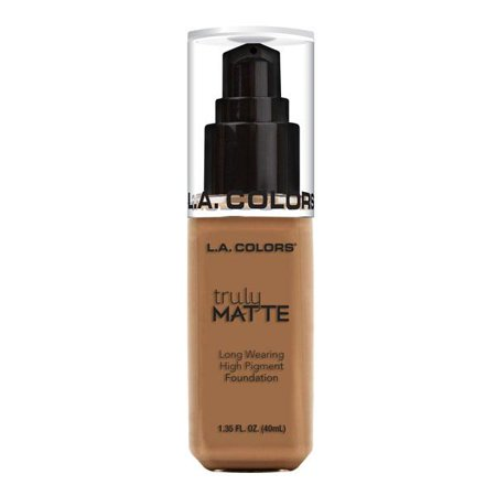 L.A. COLORS Truly Matte Foundation - Deep Tan