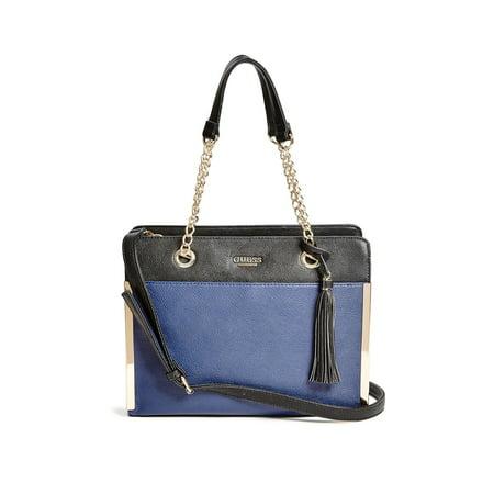 Womens Mila Pebbled Satchel Handbag