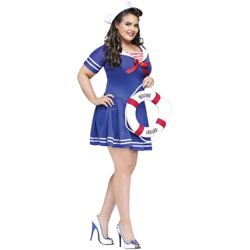 Anchors Away Adult Halloween Costume