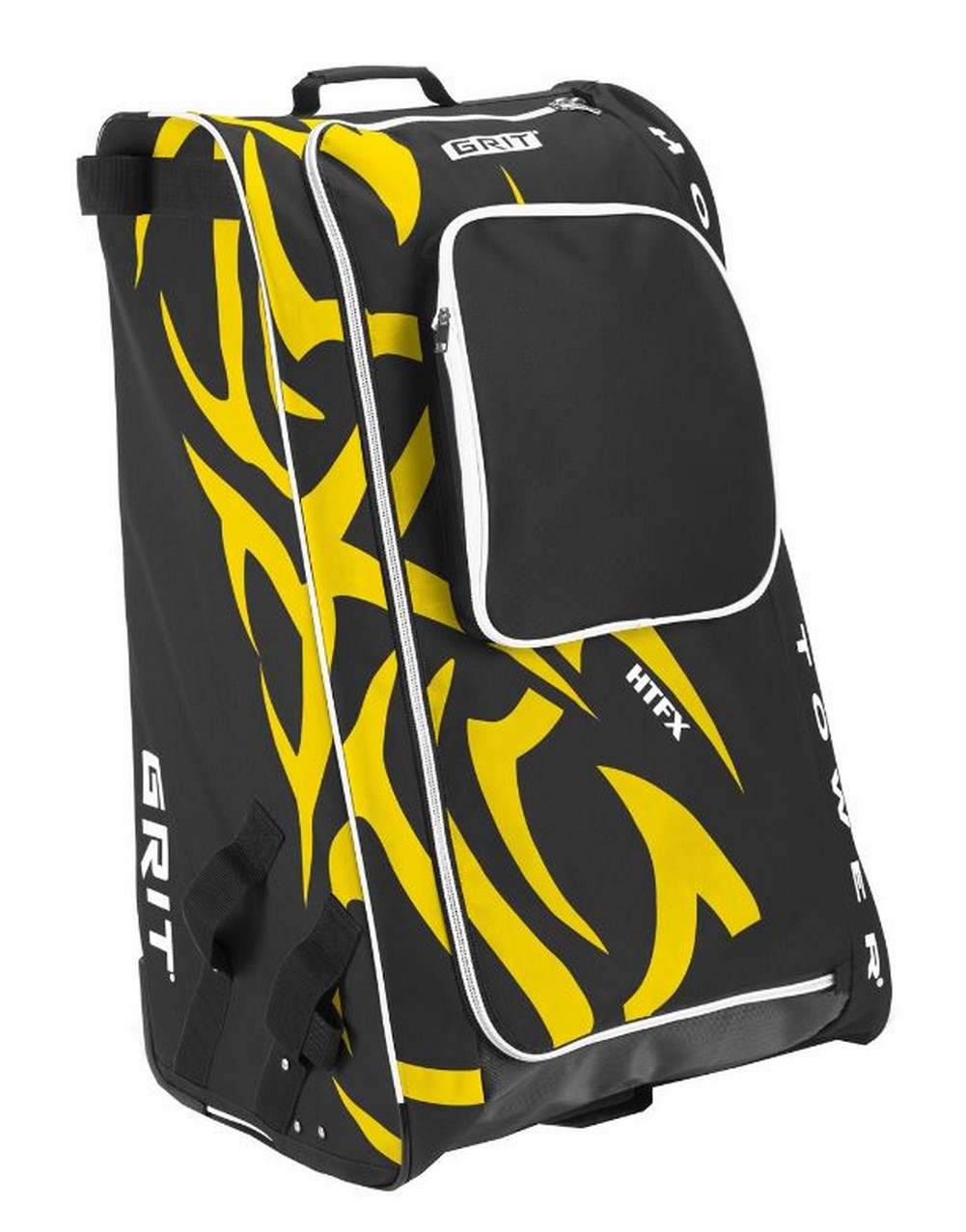 "Grit Inc HTFX Hockey Tower 33"" Wheeled Equipment Bag Yellow HTFX033-BO (Boston) by Grit Inc."