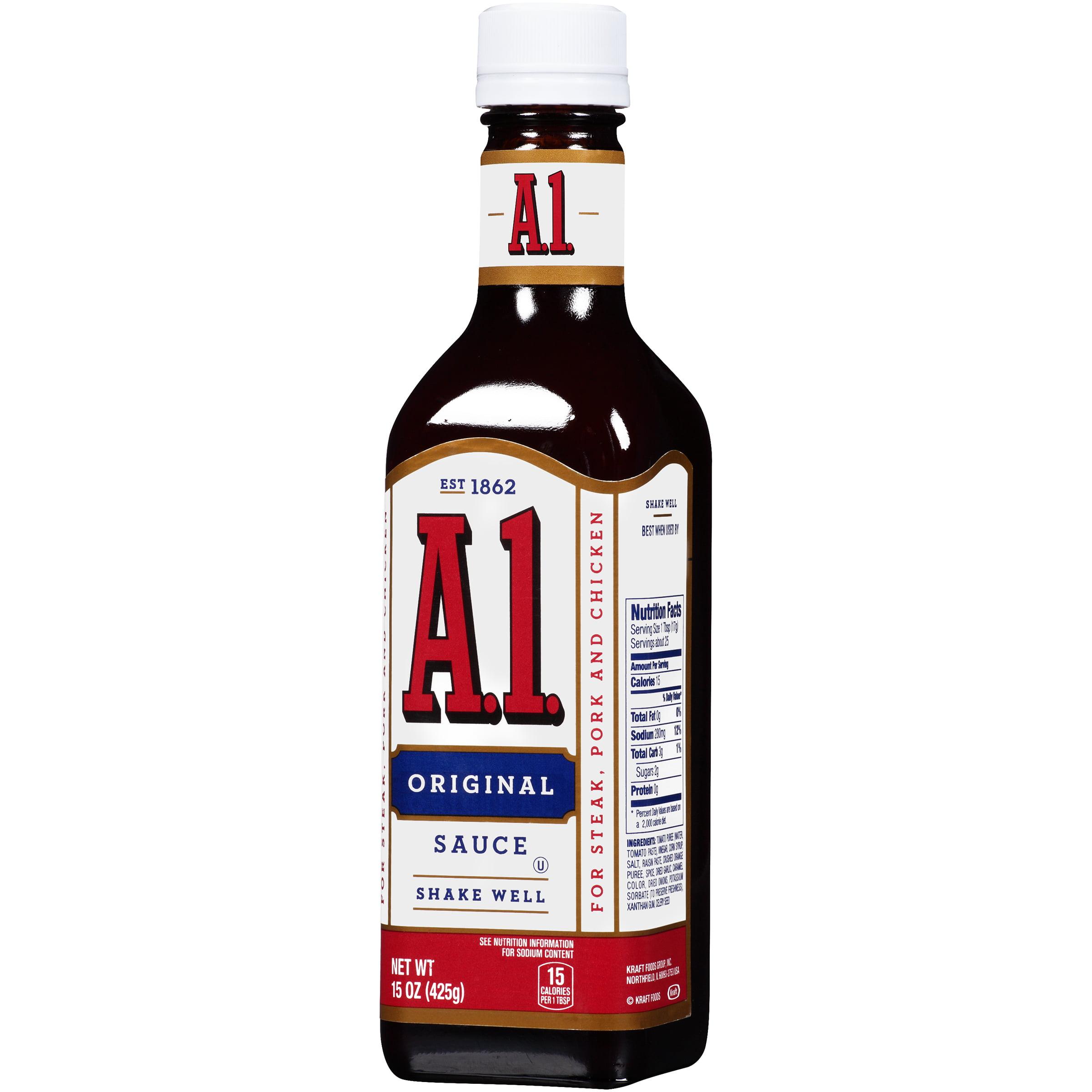 2 Pack A 1 Original Steak Sauce 15 Oz Bottle Walmart Com Walmart Com