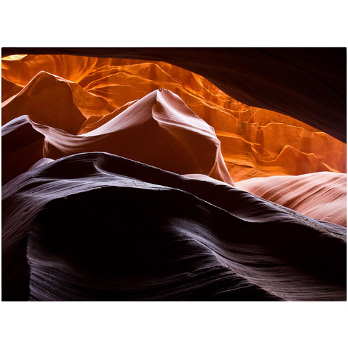 "Trademark Fine Art ""Antelope Canyon 3"" Canvas Art by Pierre Leclerc"