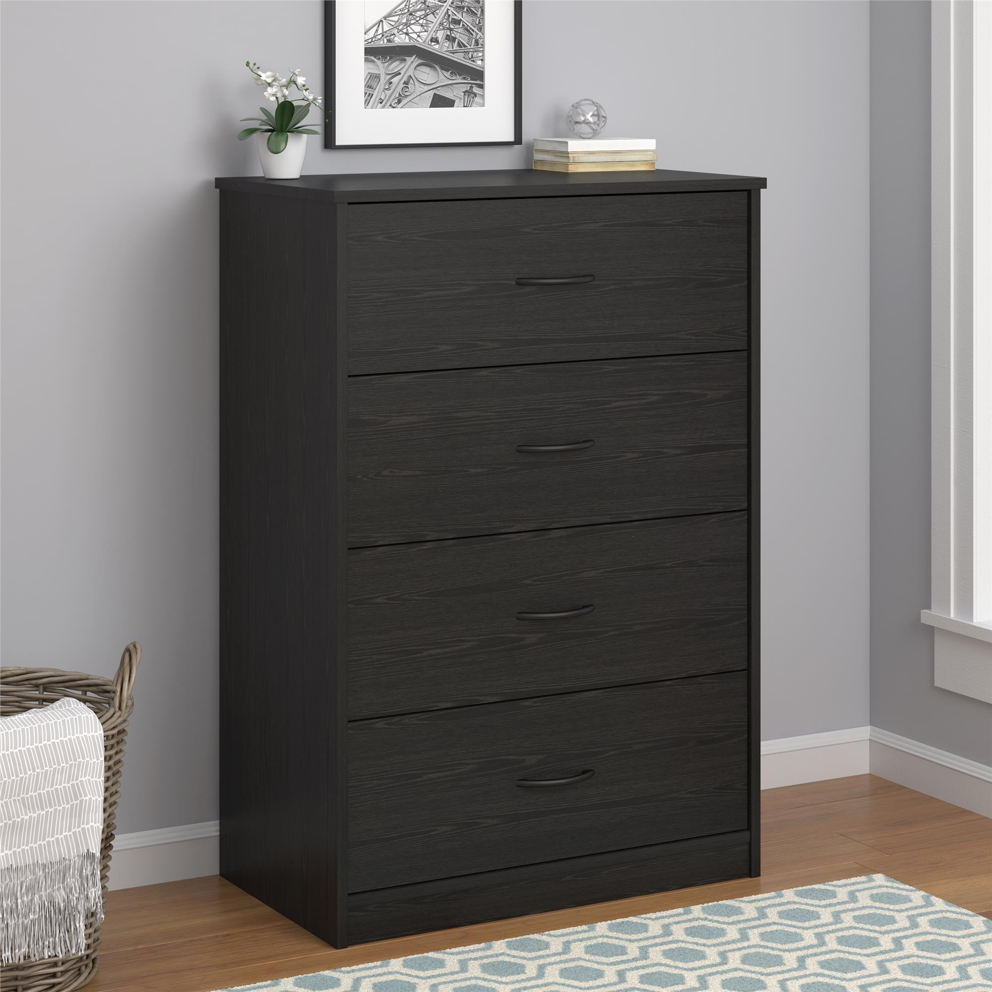 Mainstays 4-Drawer Dresser, Multiple Colors by Ameriwood Home