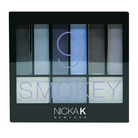 NICKA K Perfect 9 Smokey Eyeshadow Palette Set](Halloween Eye Makeup Smokey)