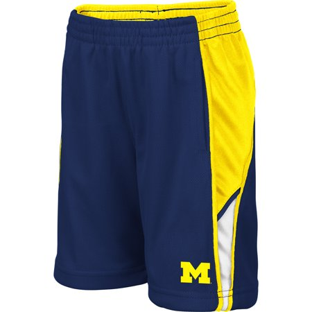 Michigan Wolverines Sports - Michigan Wolverines Colosseum Toddler Duncan Shorts - Navy