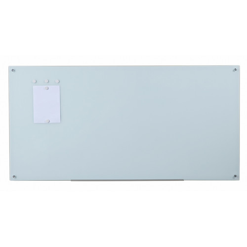 audiovisual direct dryerase wall mounted magnetic white glass board