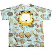 Garfield - Cat Food (Front/Back Print) - Youth Short Sleeve Shirt - Medium