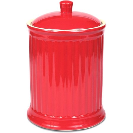 Omni Simsbury Extra Large Canister/Cookie Jar - Red ()
