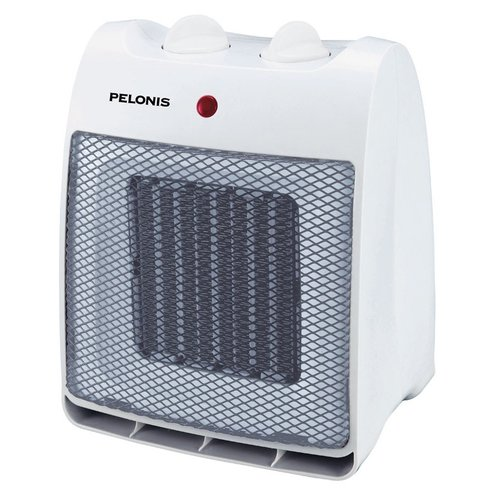 Pelonis Portable Ceramic Heater, White, #NT20-12D by Import-Midea (Zhongshan) Electric Fan