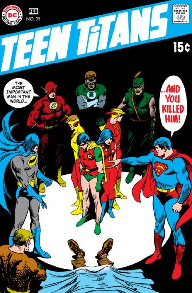 Teen Titans the Bronze Age by
