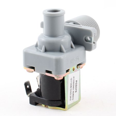 "Unique Bargains Washing Machine 1"" Thread Water Inlet Solenoid Valve  220V/240V"