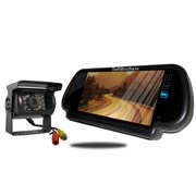 Tadibrothers 7 Inch Mirror with 120 Degree RV Backup Camera