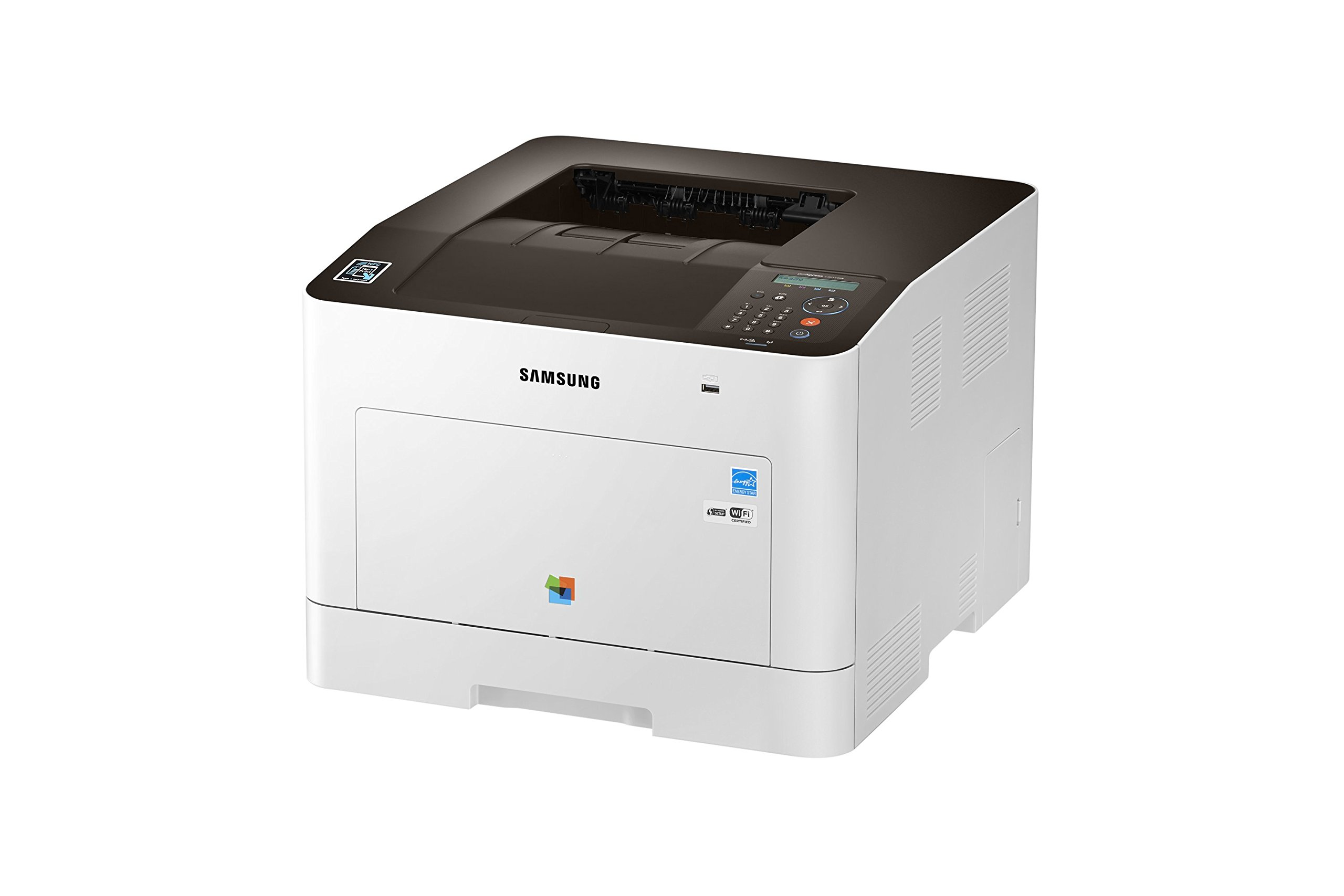 Samsung Electronics SL-C3010DW Wireless Color Printer, Amazon Dash Replenishment Enabled by Samsung