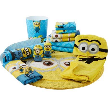 Universal s Minions Fabric Shower Curtain Walmart com