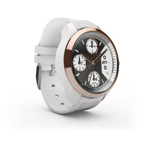iFit Classic Water Resistant Luxury Fitness Tracker Smart Watch w/ iFit App - (Best Diet Tracker App)