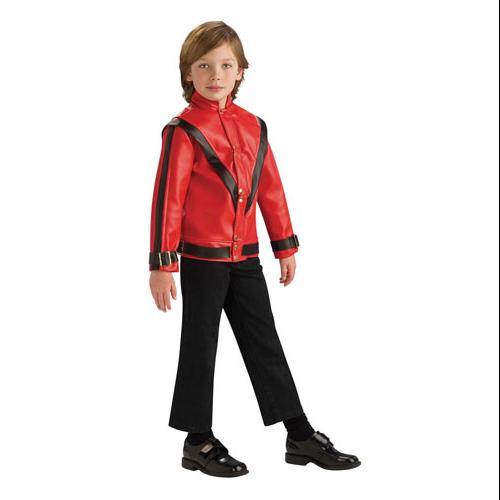 Boys Michael Jackson Red Thriller Jacket size Medium 8-10