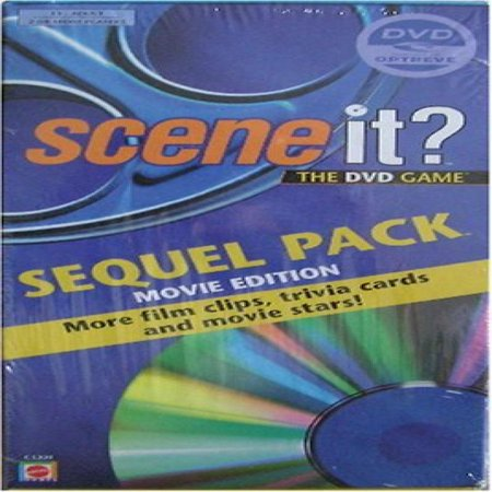 Scene It: Sequel Pack (Movie Edition): More Film Clips, Trivia Cards and Movie Stars! - Halloween Film Trivia