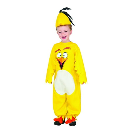 Angry Birds Movie Chuck Romper Toddler Costume 2T - Angry Birds Halloween Costume Homemade