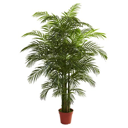 Nearly Natural 6-1/2' Areca Palm, UV Resistant, Indoor and Outdoor