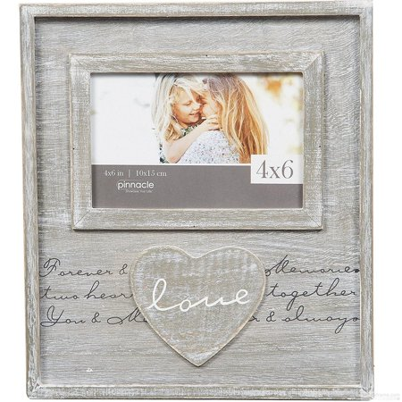 LOVE Script Distressed Wood Frame Sign by Pinnacle