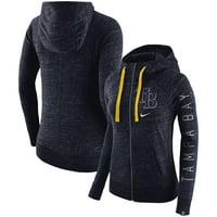 Tampa Bay Rays Nike Women's Vintage Full-Zip Hoodie - Navy