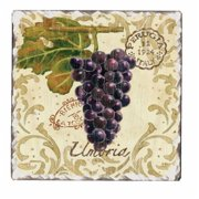 Counter Art CART15093 Vintage Grapes Trivet