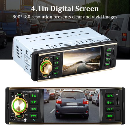 Digital Media Receiver with Bluetooth, Car Media Player, Hands-Free Calling, Rear view camera, Front AUX in function, Steering Wheel Control, FM Radio Receiver, Full IR Remote Control MP5 player Mp5 Full Stock