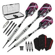 Viper Grim Reaper 80% Tungsten Soft Tip Darts Grooved Barrel 18 Grams