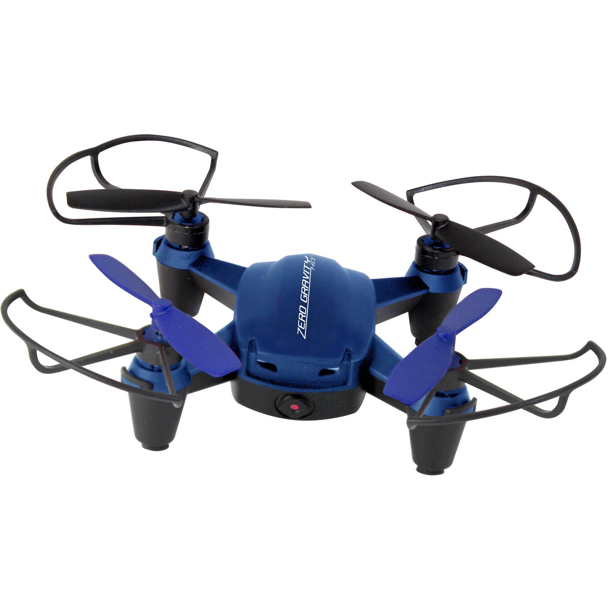 PC Treasures Zero Gravity X1 - HD Drone, Blue