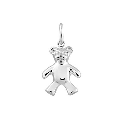 Sterling Silver Chicago Bears Charm - Tiffany Teddy Bear Charm In Sterling Silver 22877682