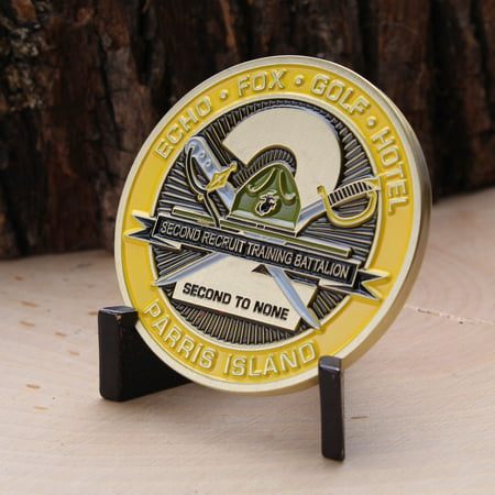 2nd Recruit Training Battalion Parris Island Challenge Coin