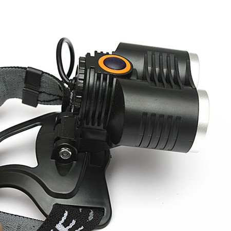 Elfeland 50000Lm 2x  T6 LED Rechargeable Headlight Headlamp Bicycle Front Light 5 Modes Head Light Torch Lamp - image 5 de 8
