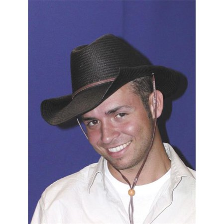 Costumes For All Occasions GC181 Cowboy Hat Rolled Black - image 1 of 1