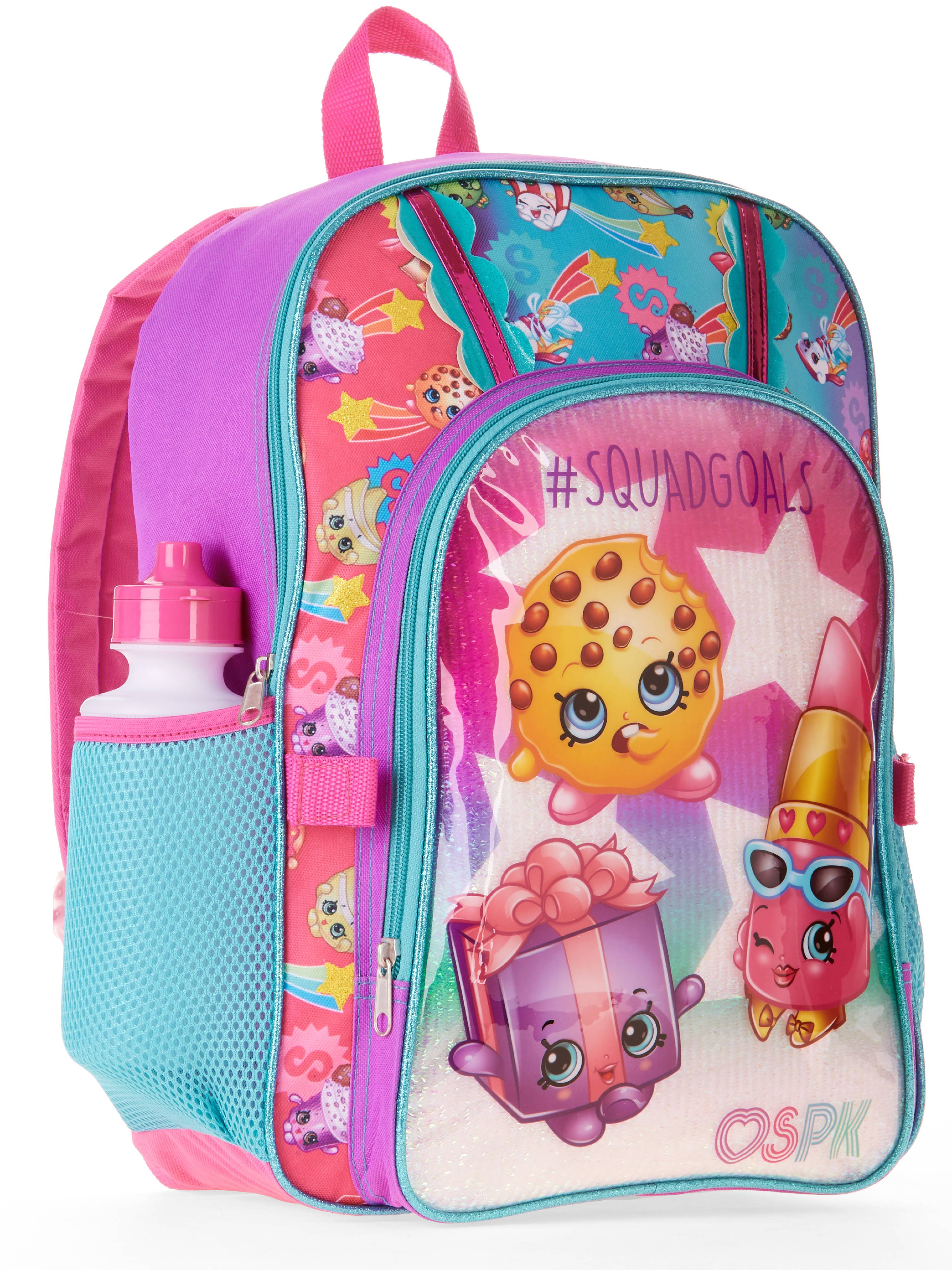 """Shopkins 12/"""" Kids Backpack with Two Compartments"""