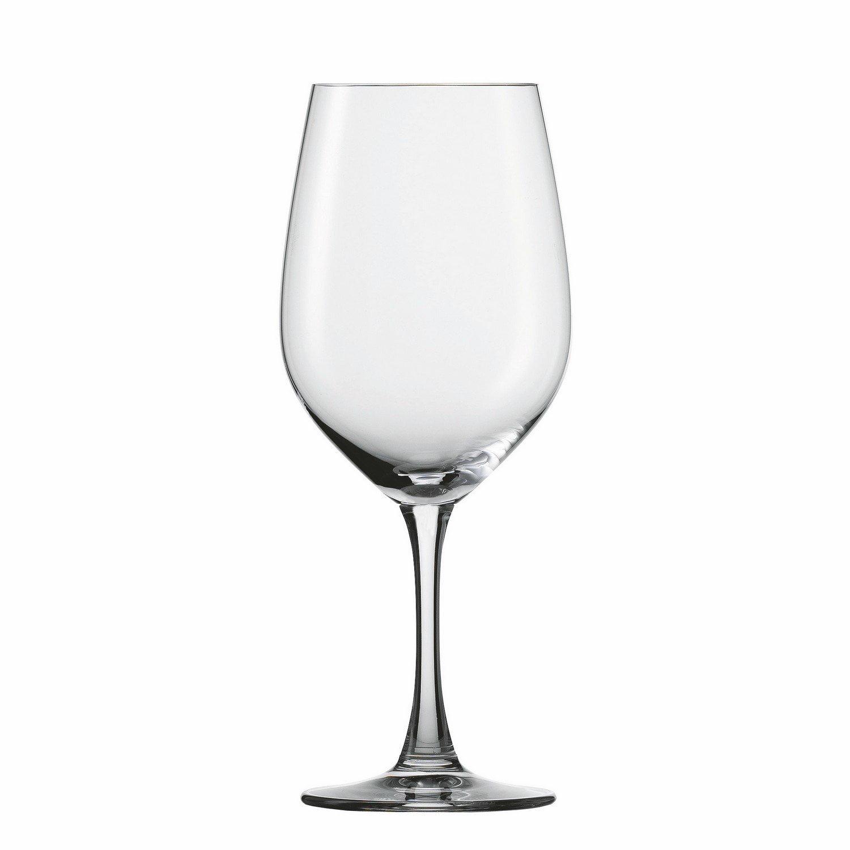 Clear Drinking Glasses Set, 4pcs Spiegelau Wine Lovers 20.5 Oz Bordeaux Glass Set by TRUE-BRANDS