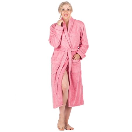 Noble Mount Womens 100% Cotton Terry Bathrobe