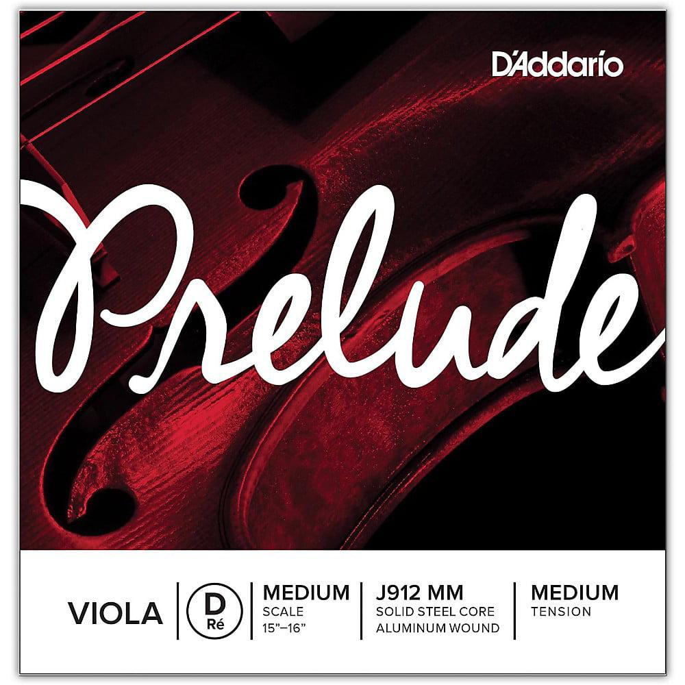 D'Addario Prelude Sereis Viola D String  15+ Medium Scale