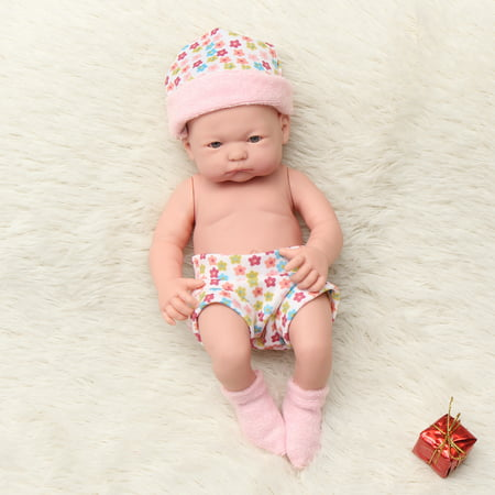 Newborn Reborn Infant Baby Doll Handmade Lifelike Realistic Silicone Vinyl Cloth Soft Sleeping Toy Toddler Kid Gifts