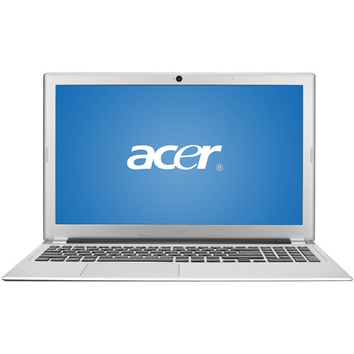 "Acer Silky Silver 15.6"" Aspire V5-571-6605 Laptop PC with Intel Core i3-2367M Processor and Windows 7 Home Premium with Windows 8 Pro Upgrade Option"