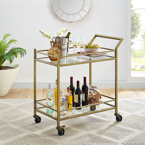 Crosley Furniture Aimee Bar Cart