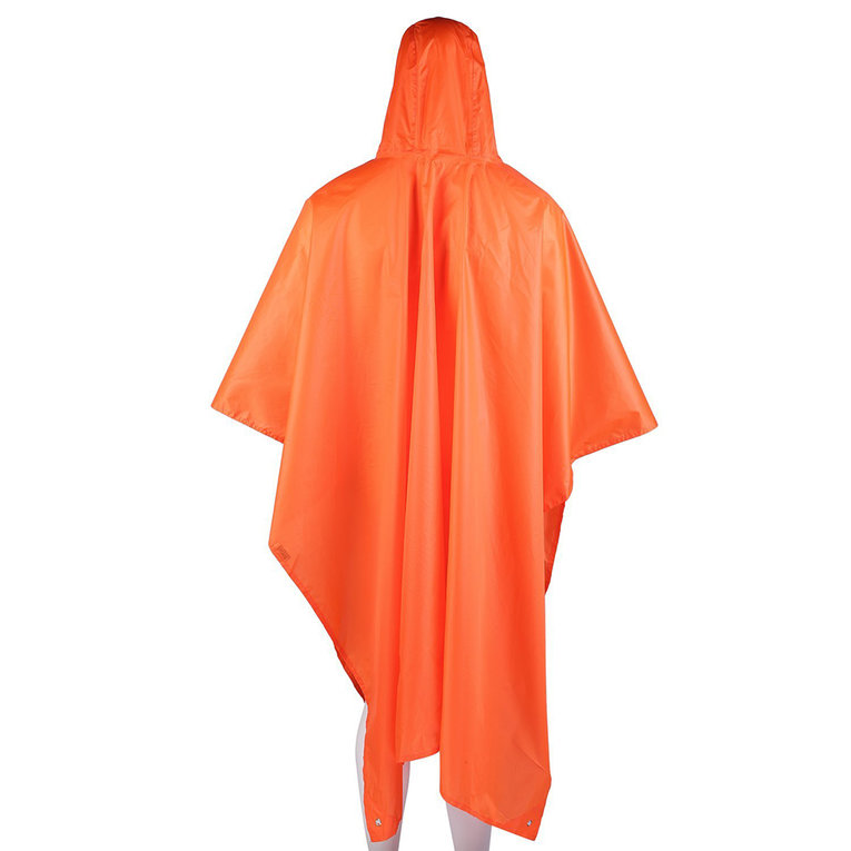 AOTU Multipurpose Rain Poncho Backpack Cover Tarp Hiking Rain Covers by