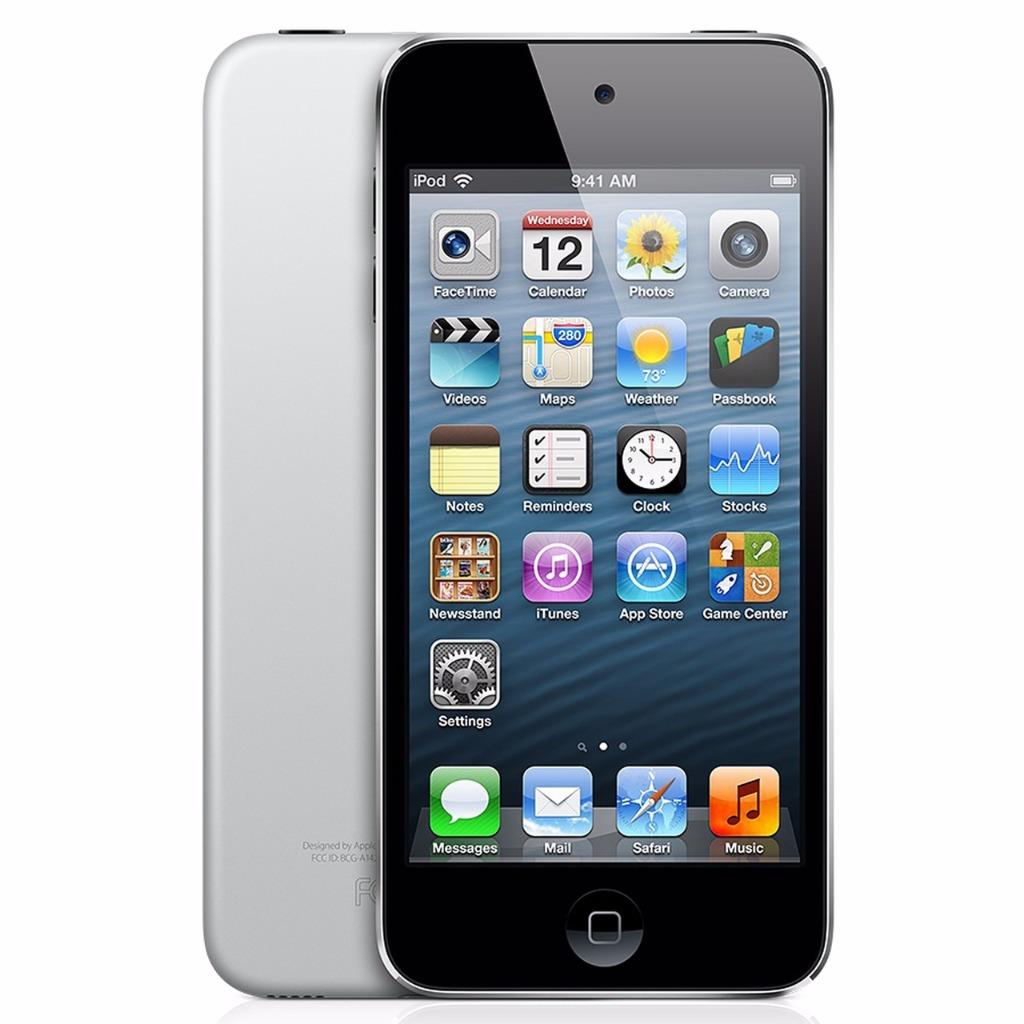 "Refurbished Apple iPod Touch 16GB 4"" Retina Display - Black/Slate 5th Generation ME643LL/A"