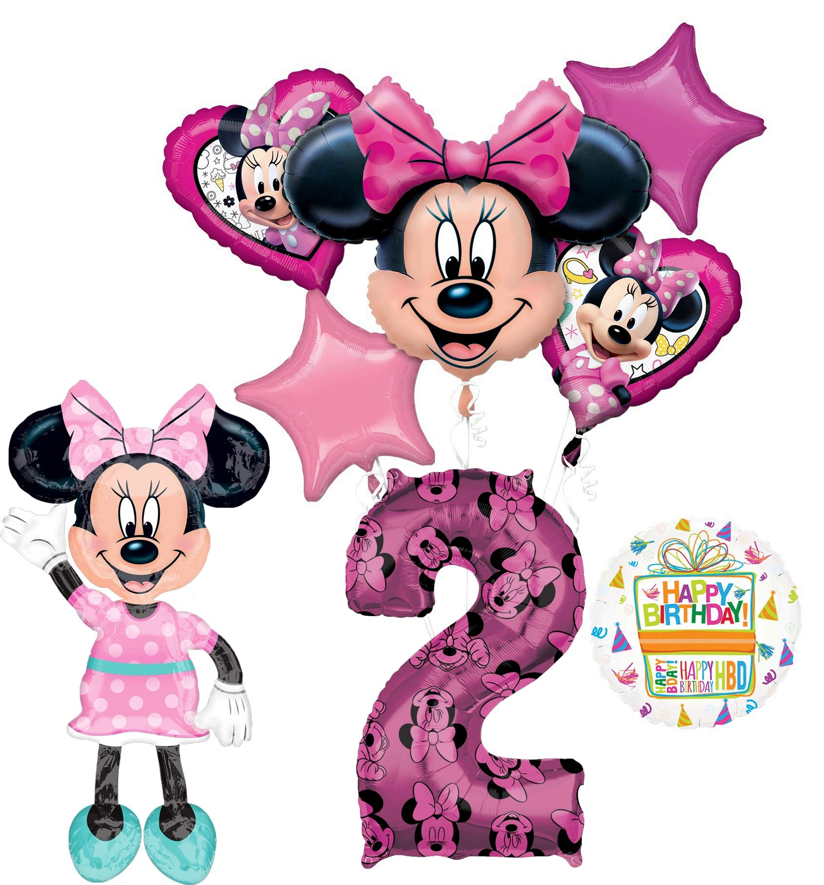 Disney Babies MINNIE Party Supplies Favor BOXES Loots 8 by Lgp