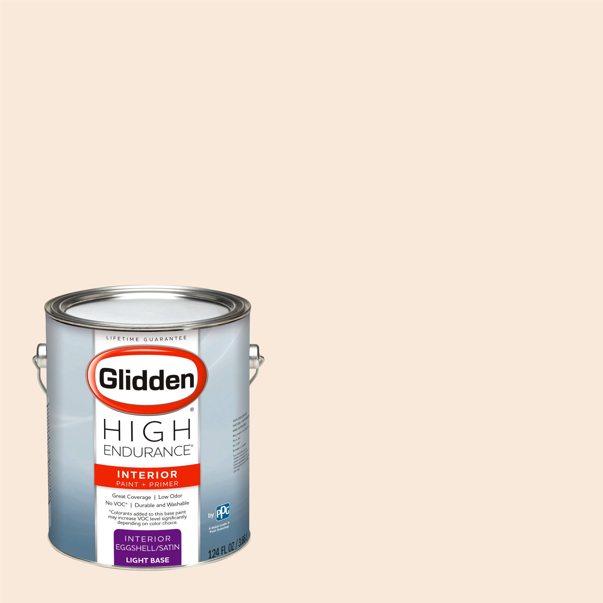 Glidden High Endurance, Interior Paint And Primer, Peach Orchid, #10YY 83/