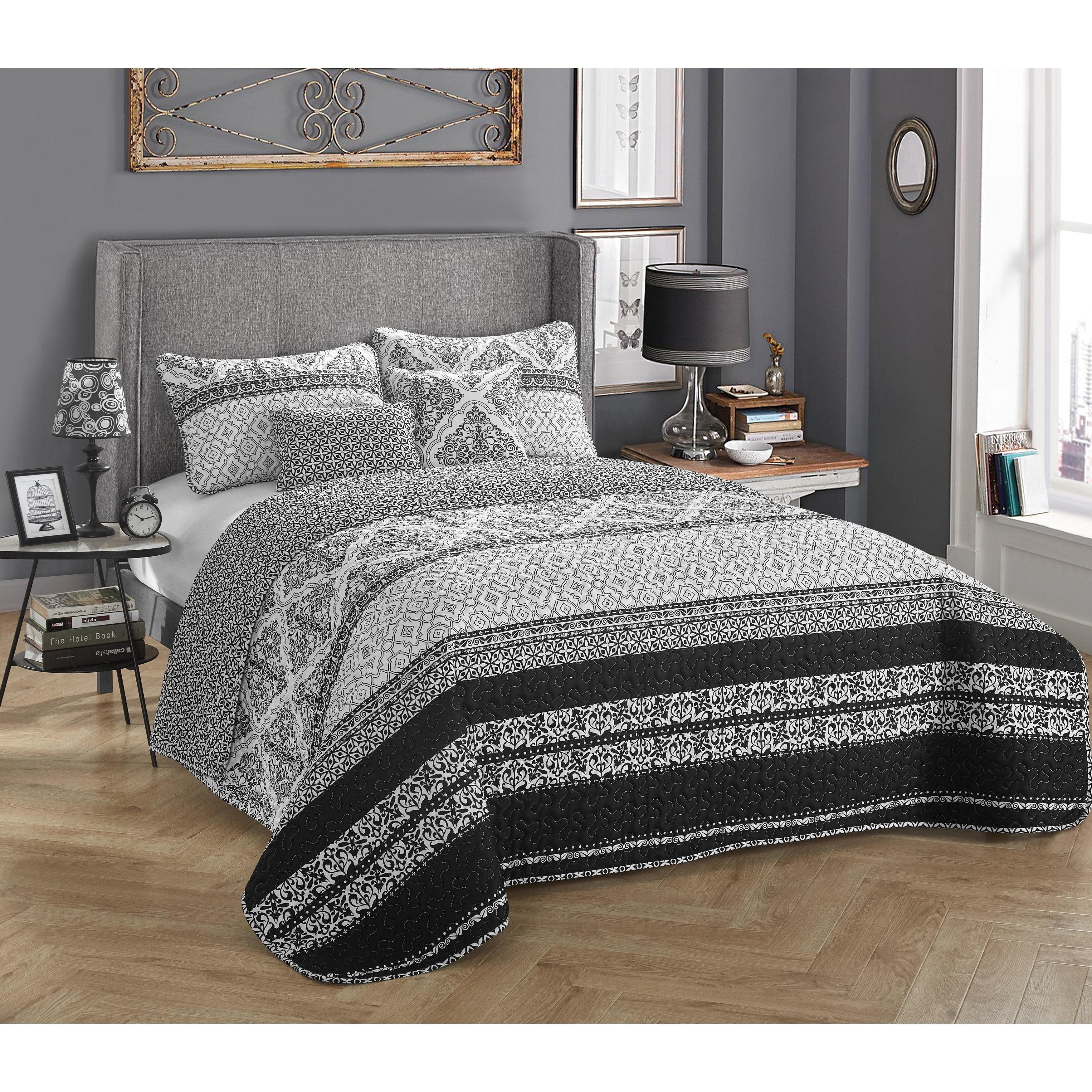 StyleNest Talulah 5-Piece Bedding Quilt Set by Idea Nuova