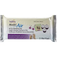 Model Air Dry Modeling Clay, White