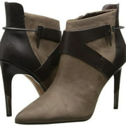 Isleen Women Pointed Toe Leather Ankle Boot