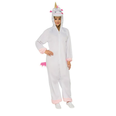 Despicable Me 3 - Fluffy Adult Jumpsuit (Despicable Me Lucy Halloween Costume)