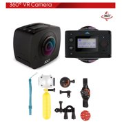 GIGABYTE JOLT Duo 360 Spherical VR WiFi Action Camera with Waterproof Case Kit - Best Reviews Guide